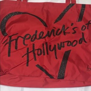 NWOT Frederick's of Hollywood Large Glitter Tote